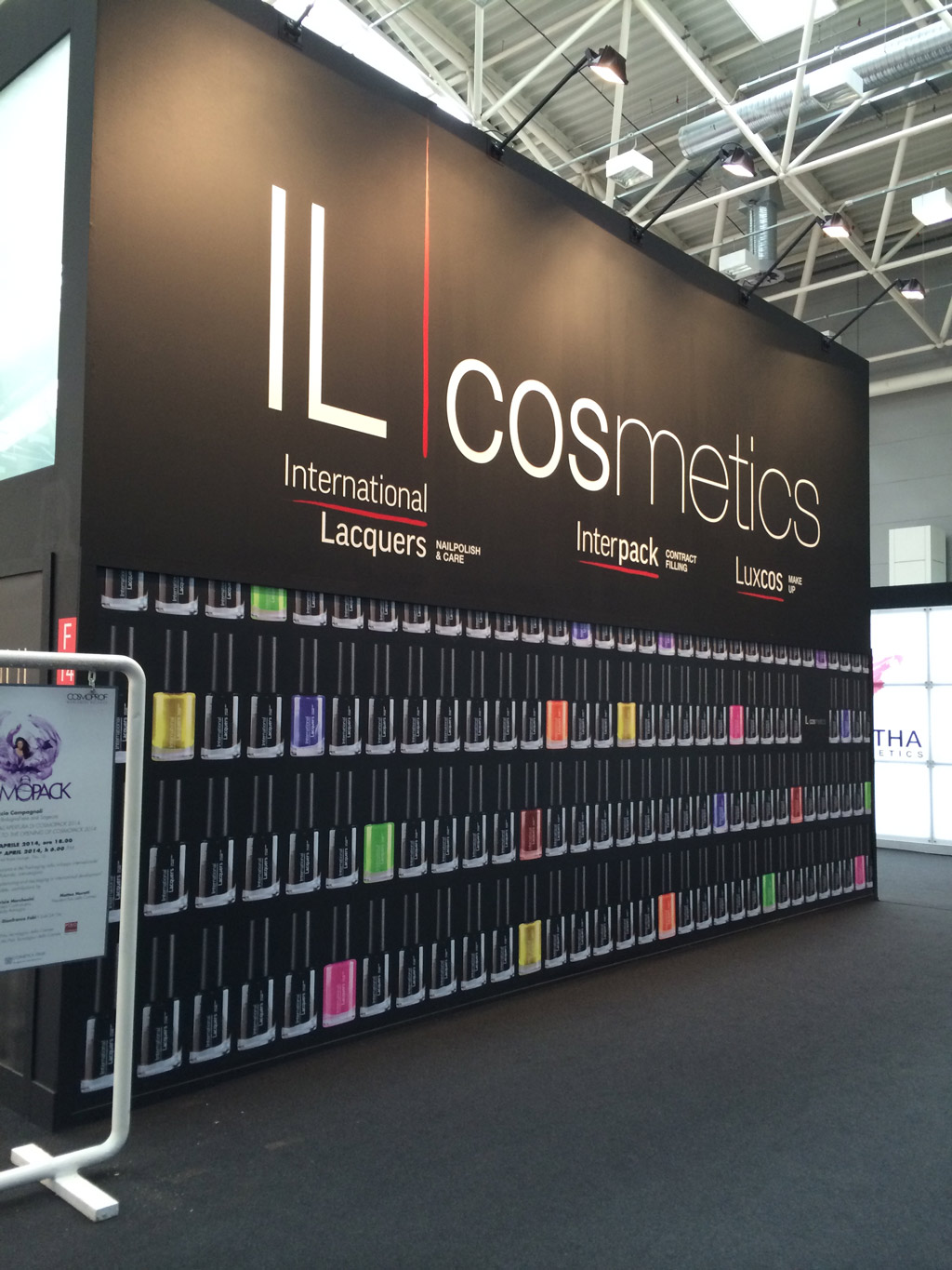 Bologne 2014 Il Cosmetics International Lacquers Luxcos Interpack